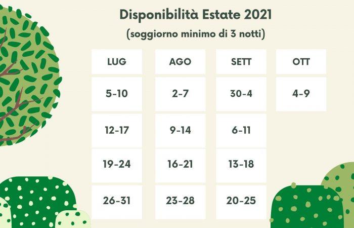 Vuoto Verde Foresta e Bianco Calendario Programma Didattico (2)